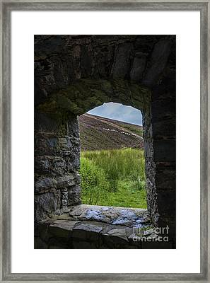 Room With A View Framed Print by Diane Macdonald