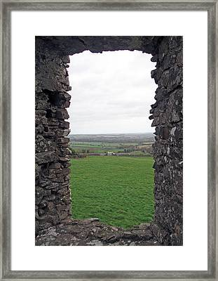 Room With A View Framed Print by Kathleen Scanlan