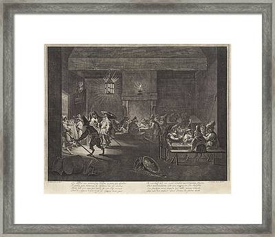 Room With Monkeys Framed Print