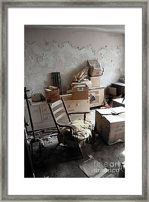 Room With One Window Framed Print