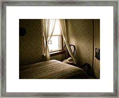 Room301 Irish Inn Framed Print by Joan Reese