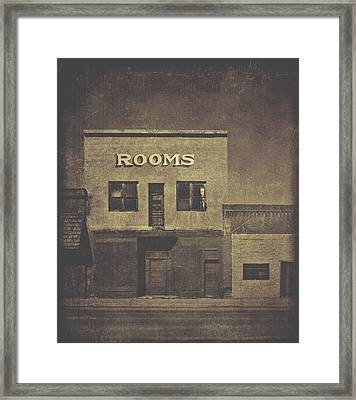 Rooms Framed Print