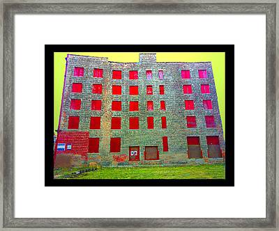 Rooms With No View Framed Print