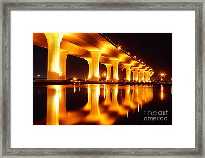 Roosevelt Bridge Framed Print