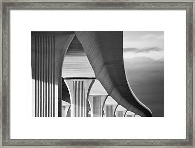 Roosevelt Bridge2 Framed Print