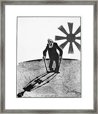 Roosevelt Cartoon, 1941 Framed Print by Granger