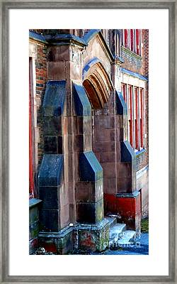 Roosevelt High School Framed Print by Janine Riley