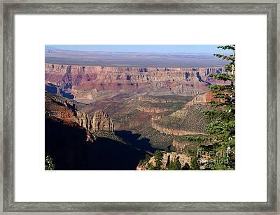 Roosevelt Point Scenic View Framed Print