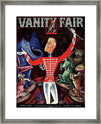 Roosevelt The Ringleader Framed Print