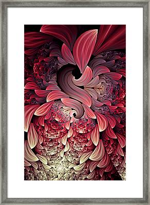 Rooster Abstract Framed Print by Georgiana Romanovna