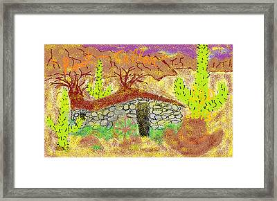 Root Cellar Framed Print by Joe Dillon