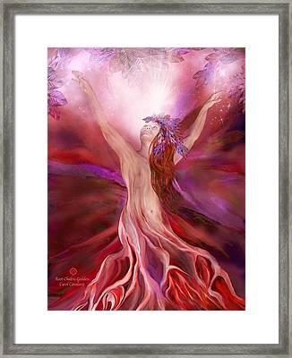 Root Chakra Goddess Framed Print