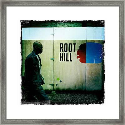 Root Hill Framed Print