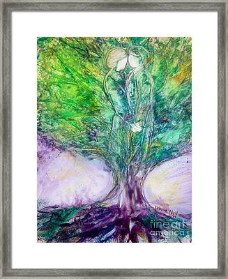Rooted In Love Framed Print