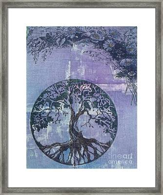Rooted Framed Print by Leslie Jennings