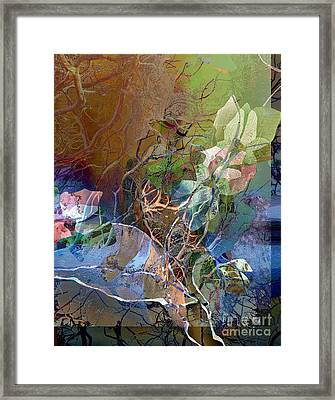Roots And Branches Framed Print by Ursula Freer