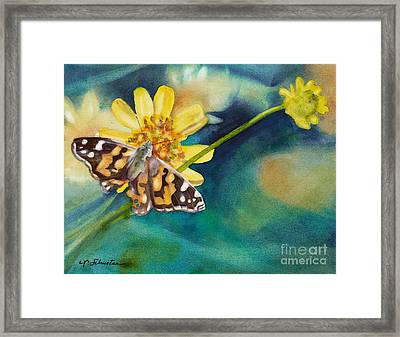 Roots And Wings Framed Print by Amanda Schuster