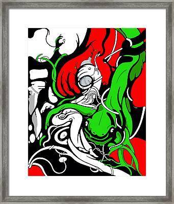 Roots Framed Print by Craig Tilley