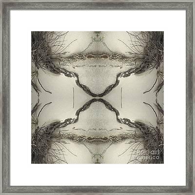 Roots Four Framed Print by Carina Kivisto