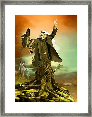 Roots Framed Print by Imad Abu shtayyah