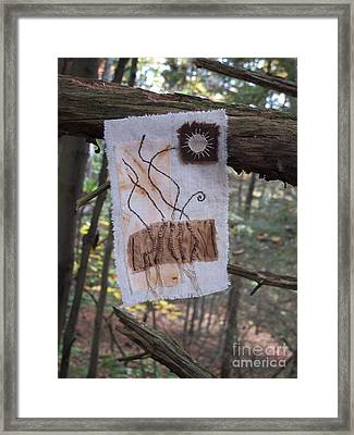 Roots Framed Print by Linda Marcille