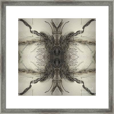 Roots Two Framed Print by Carina Kivisto