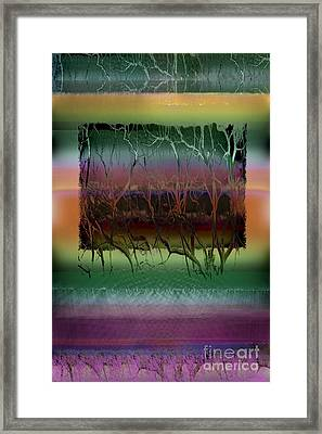 Roots Framed Print by Ursula Freer