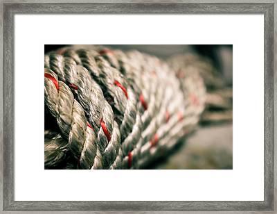 Rope Bundle Framed Print