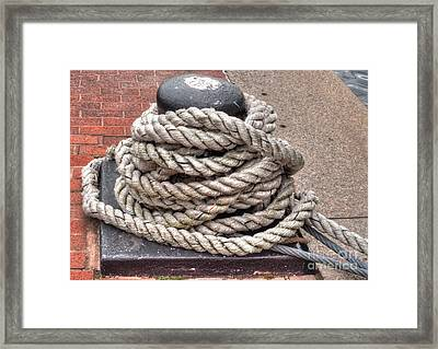 Rope Coil 1 Framed Print