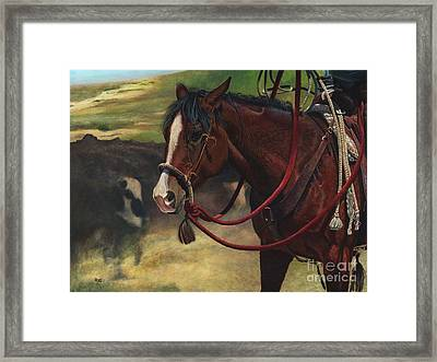 Rope Ready Framed Print
