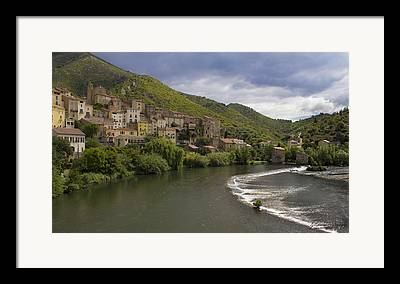 Roquebrun Framed Prints