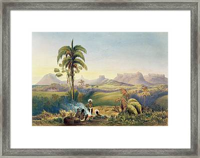 Roraima, A Remarkable Range Framed Print by Charles Bentley