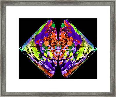 Rorschach  On Steroids  Framed Print