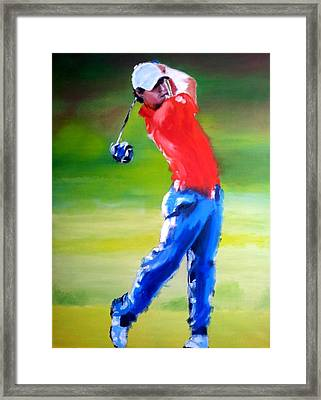 Rory Framed Print by Oliver McParland