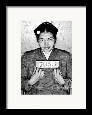 Protest Photographs Framed Prints