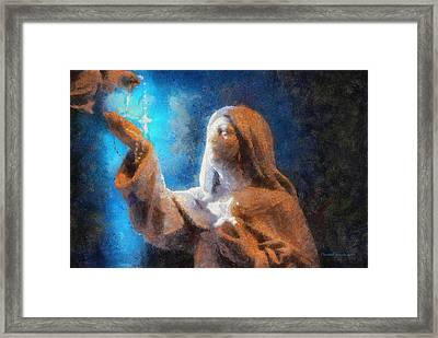 Rosary Photo Art Framed Print by Thomas Woolworth
