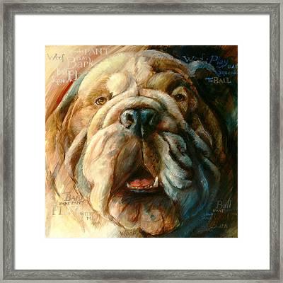 Roscoe Too Framed Print