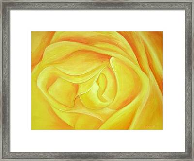 Rose Framed Print by Ahmed Amir