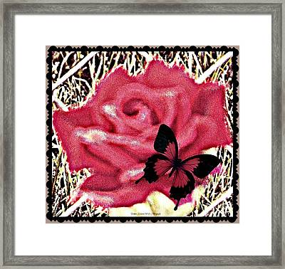 Rose By Any Other Name Framed Print by Bobbee Rickard