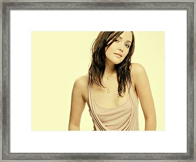 Rose Byrne Framed Print by Movie Poster Prints