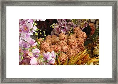 Rose Chicks Framed Print