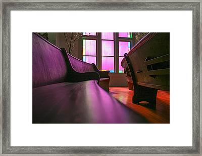 Rose Colored Glass 2 Framed Print