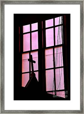 Rose Colored Glasses Framed Print by Lauren Leigh Hunter Fine Art Photography