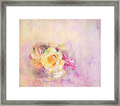 Rose Dream Framed Print by Theresa Tahara