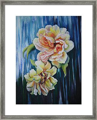 Rose Duo Framed Print