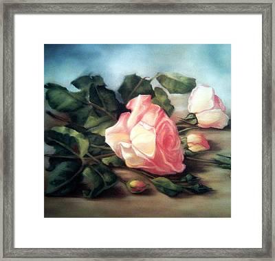 Rose Flowers Framed Print