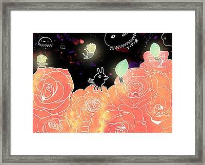 Rose Garden  Framed Print by Yoyo Zhao