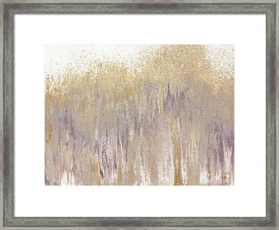 Rose Gold Expression Framed Print by Roberto Gonzalez