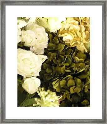 Rose Lights Framed Print