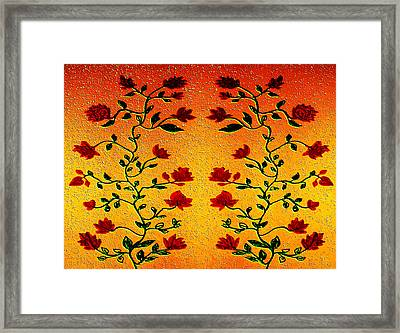 Rose  Framed Print by Manju Lata
